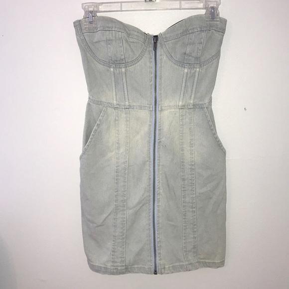 H&M Dresses & Skirts - Light Wash Denim Dress ACCEPTING OFFERS